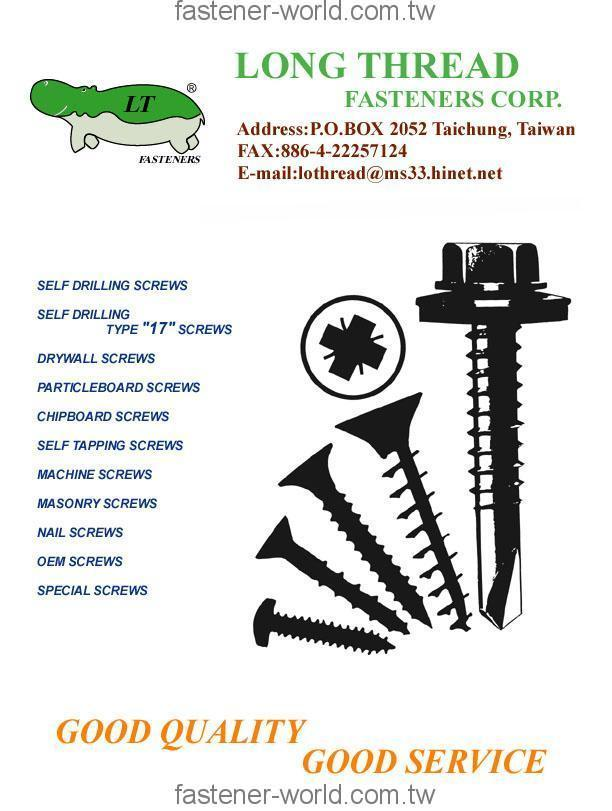 LONG THREAD FASTENERS CORP.  Online Catalogues