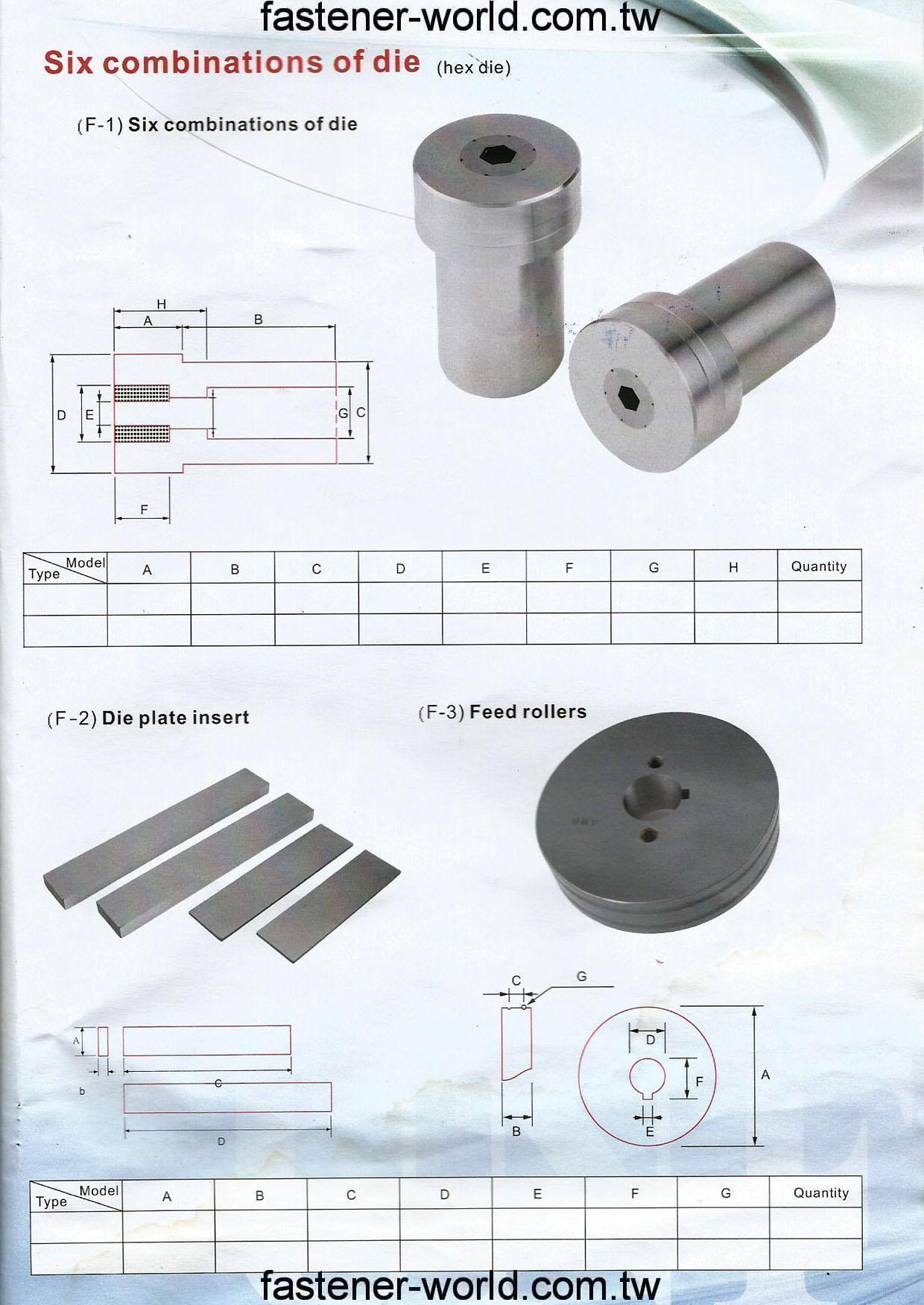 E-FONG DIE MANUFACTURE CO., LTD. Online Catalogues
