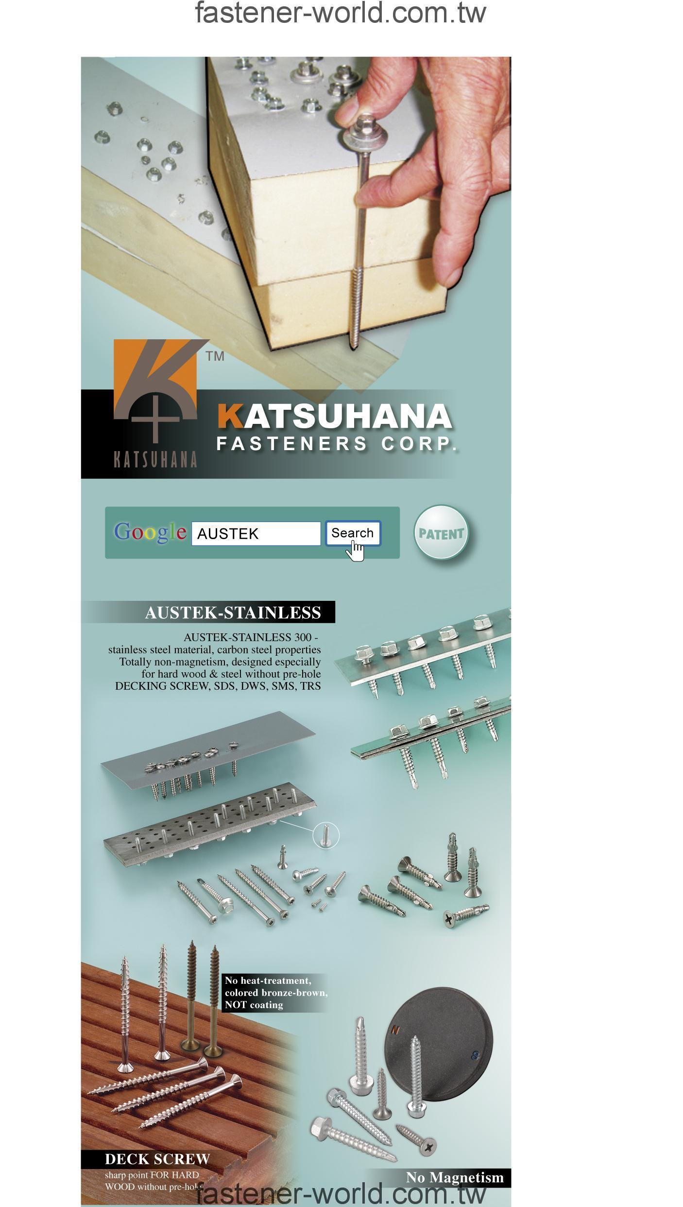 KATSUHANA FASTENERS CORP.  Online Catalogues