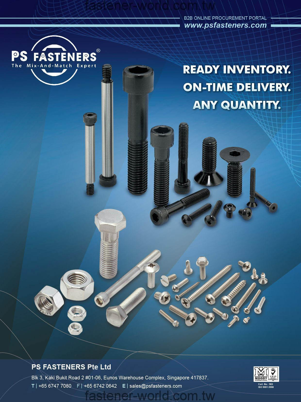 PS FASTENERS PTE LTD. Online Catalogues