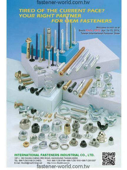 INTERNATIONAL FASTENERS INDUSTRIAL CO., LTD.  Online Catalogues