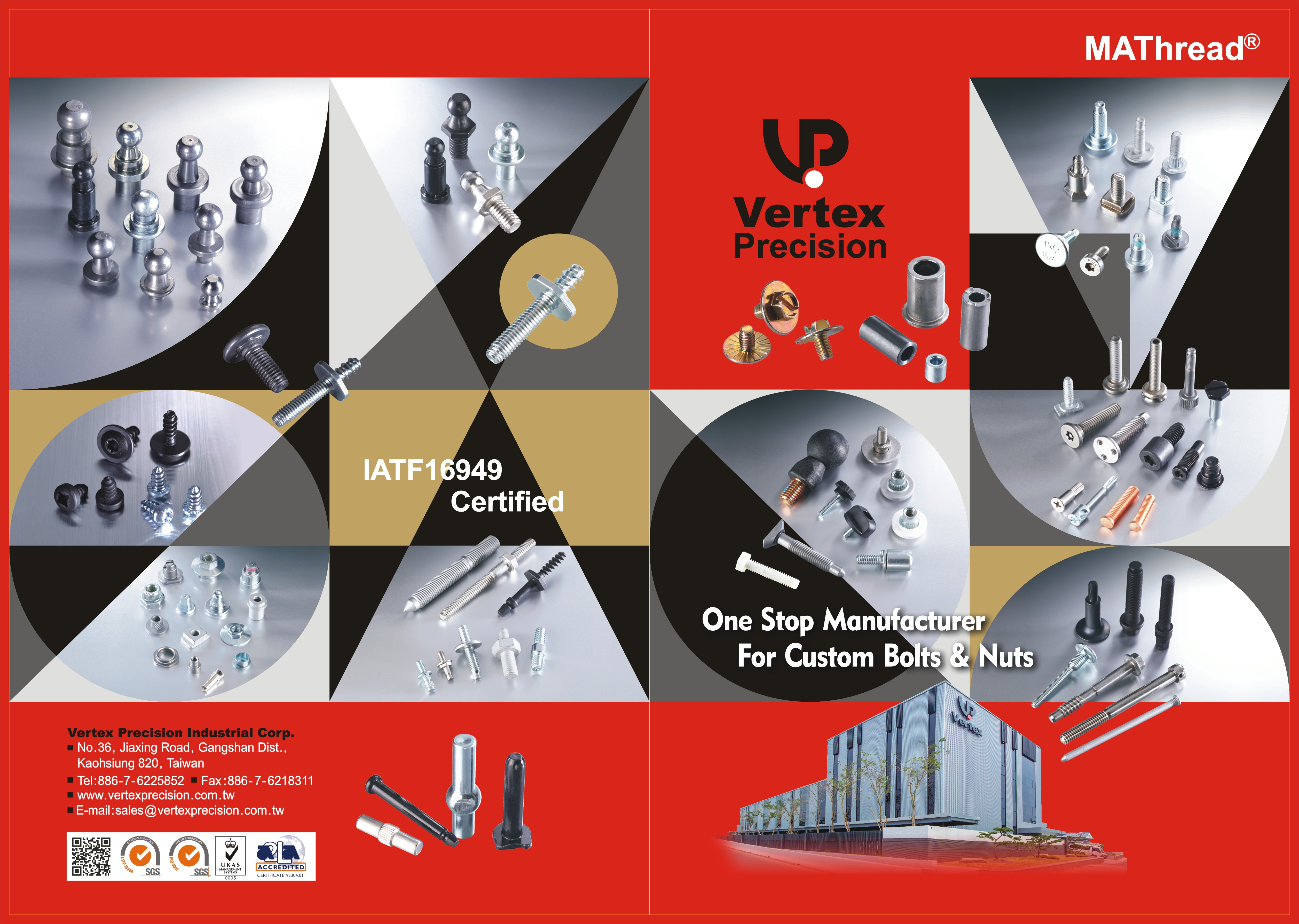 VERTEX PRECISION INDUSTRIAL CORP. Online Catalogues