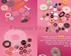 WASHERS AND O-RING(YI HUNG WASHER CO., LTD. )
