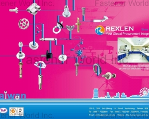 Clinch Studs/ Nuts/ Screws/ Anchors/ SEMS(REXLEN CORP. )