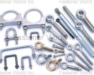 EYE BOLTS, U BOLTS & CLAMPS(SHUN DEN IRON WORKS CO., LTD. )