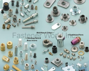 Weld Nuts & T-Nuts(J. T. FASTENERS SUPPLY CO., LTD. )