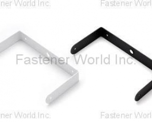 BRACKET POWDER COATING WITH WHITE(BLACK)(BESTWELL INTERNATIONAL CORP. )