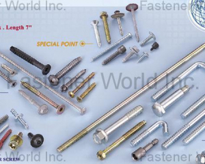 Shoulder Screws, SMS, Special Parts(KATSUHANA FASTENERS CORP. )