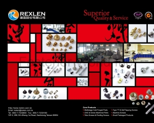 Multistage Cold Forged Parts(REXLEN CORP. )
