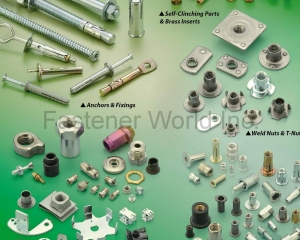 Self-Clinching Parts & Brass Inserts, Anchors & Fixings, Weld Nuts & T-Nuts, Customized Parts, Riveting Parts(J. T. FASTENERS SUPPLY CO., LTD. )