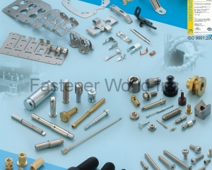 Precision Machining, Progressive Metal Stamping, Multi-Stage Cold Forging, Brass Inserts, Screws, Special Formed Parts, Brass Inserts, Dowel Pins, Standoffs, Special Parts(WAS SHENG ENTERPRISE CO., LTD.)