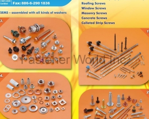 Double Thread Stud, Roofing Screw, Self-Drilling Screws(ABS METAL INDUSTRY CORP. )