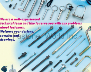 High Strength High Carbon Steel Screws & all kinds of Special Fasteners & H(TSAE FARN SCREWS HARDWARE CO.,LTD )