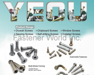 fastener-world(JAU YEOU INDUSTRY CO., LTD. )