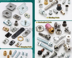 Stamping Parts, Brass Inserts & Self-Clinching, Riveting Parts, Customized Parts, Cage Nuts(J. T. FASTENERS SUPPLY CO., LTD. )