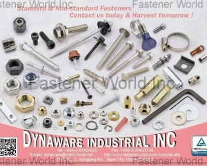 Standard & Non-standard Fasteners(DYNAWARE INDUSTRIAL INC.)