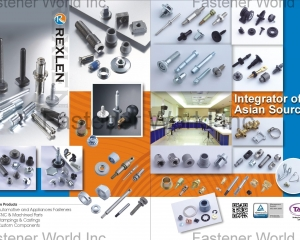 Automotive and Appliances Fasteners, CNC & Machined Parts, Stampings & Castings, Custom Components(REXLEN CORP. )