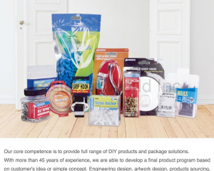 DIY Products & Package Solutions