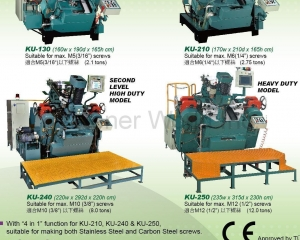Self-Drilling Screw Forming Machine, Pinch Pointer(KEIUI INTERNATIONAL CO., LTD.)