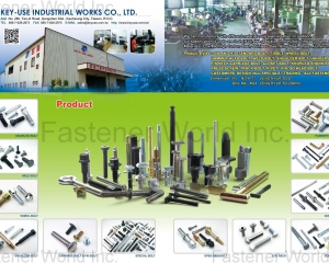 Knurled Bolt, Weld Bolt(KEY-USE INDUSTRIAL WORKS CO., LTD )