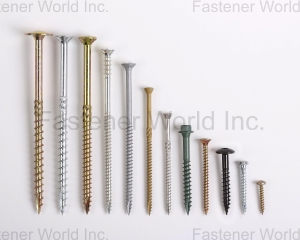 Chipboard Screw, Wood Construction Screw, Terrace Screw (威廉特企业股份有限公司 )