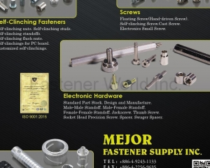 Self-Clinching Fasteners, Screws, CNC Parts, Electron Hardware
