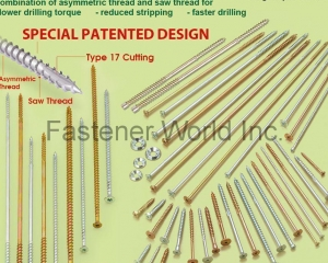 Innovative Self-Drilling Chipboard Screws(BI-MIRTH CORPORATION)