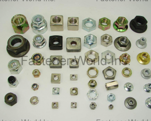 Standard Nuts (Hex Nuts / Square Nuts / Flange Nuts / Nylon Insert Nuts)(AUTOLINK INTERNATIONAL CO., LTD.)