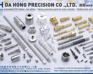 Precision Parts for Motor Vehicles, Slotted Knob Set Screws