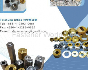Carbide Dies, Punches, Flat Rolling Dies, Nut Taps, Transfer Fingers, Recess Pins, Carbide Raw Material, Trimming Dies , Cutters. Fasteners
