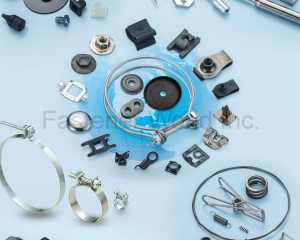 Stamping , Machined parts, Nuts, Wire Parts, Special Parts(SUN CHEN FASTENERS INC.,)