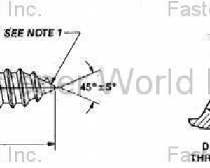 SMS(TAPPING) SCREW (KATSUHANA FASTENERS CORP. )