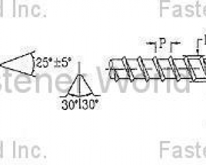 FLOORING SCREW (KATSUHANA FASTENERS CORP. )