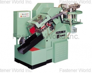 CPR Series Flat die thread rolling machine(CHUN ZU MACHINERY INDUSTRY CO., LTD. )