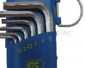 HEX WRENCHES-SHORT ARM WITH BOTH HEX-END(SHUN DEN IRON WORKS CO., LTD. )