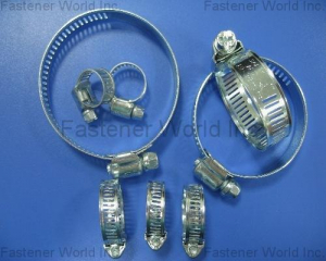HOSE CLAMPS(SHUN DEN IRON WORKS CO., LTD. )