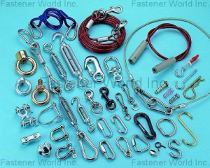 HARDWARE PARTS & WIRE ITEMS(SHUN DEN IRON WORKS CO., LTD. )