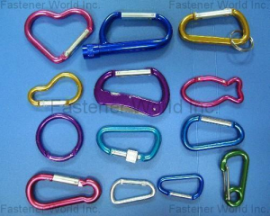ALUMINUM HOOKS & CARABINERS(SHUN DEN IRON WORKS CO., LTD. )